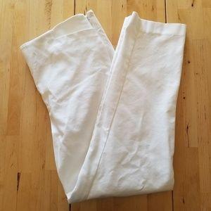 VINCE CAMUTO - side zip stretch cotton blend pants